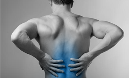 Men's back pain