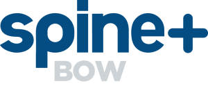 Spine Plus Bow Logo