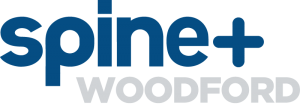Spine Plus Woodford Logo