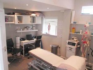 Spine Plus Woodford Interior