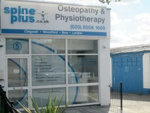Spine Plus Woodford Outside