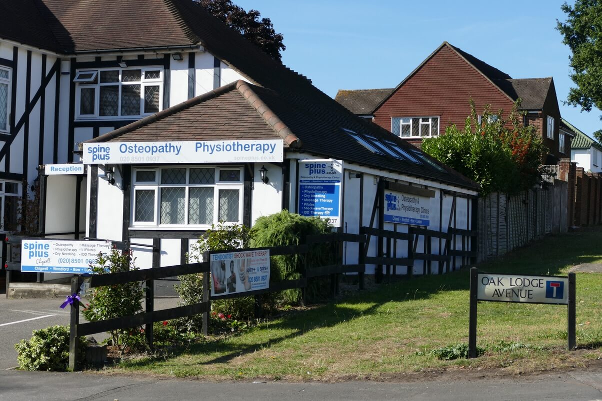 Spine Plus Osteopathy Clinic Outside 4